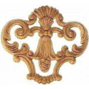 Ornament Beuken 185 mm 1HB5021 color Beukenhout